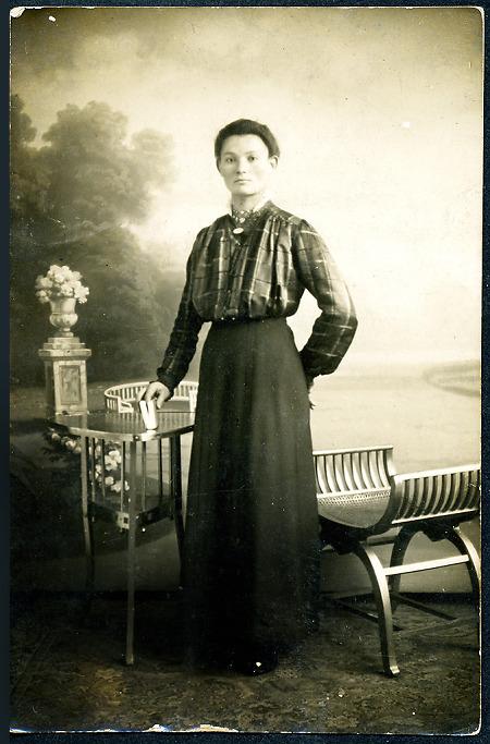 Kleidung frauen 1910