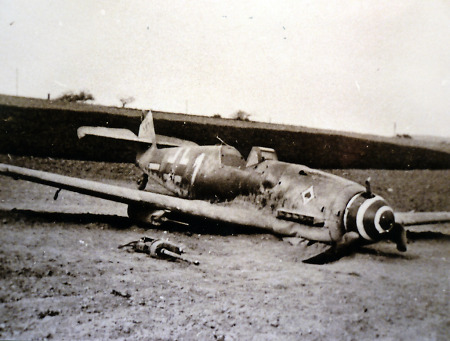 Abgestürztes flugzeug bei brandoberndorf, 1944