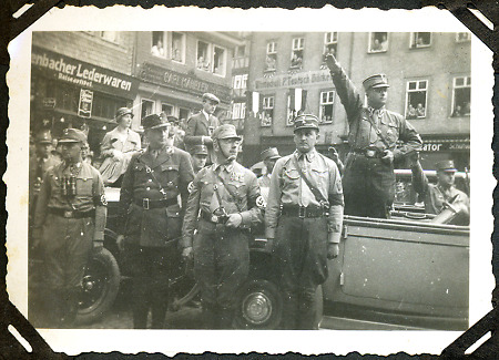 SA in Herborn, um 1934