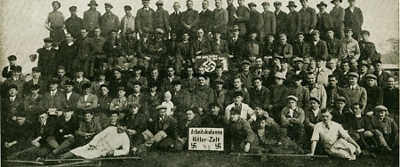 Arbeitskolonne Hitler-Zelt, April 1932