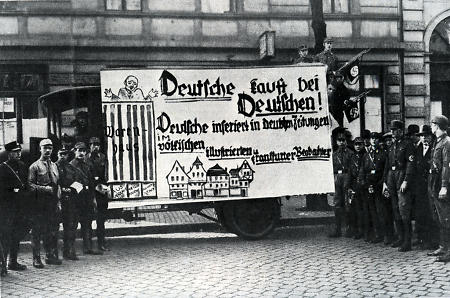 Nationalsozialistische Propaganda in Frankfurt, 1929