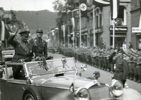 Hermann Göring in Marburg, 8. Juni 1933