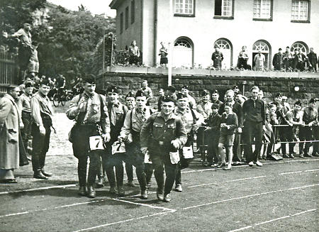 Gruppensportfest in Marburg, 1938