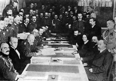 Friedensverträge 1. Weltkrieg