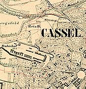 Karte Kassel Und Umgebung.Historische Kartenwerke Einfache Suche Lagis Hessen
