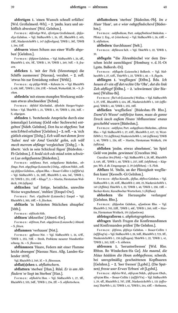 Page View: Volume 1, Columns 39–40