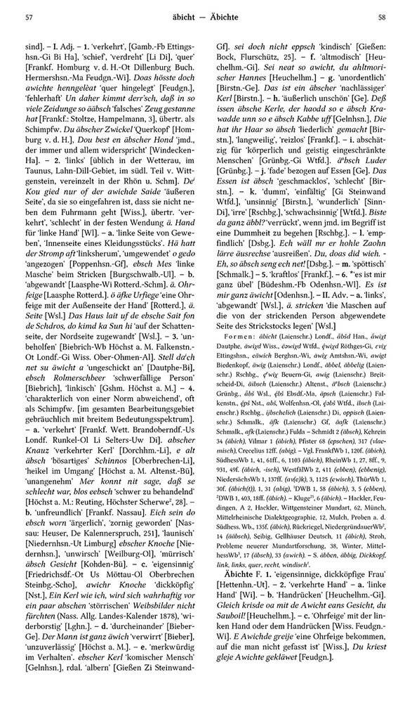 Page View: Volume 1, Columns 57–58