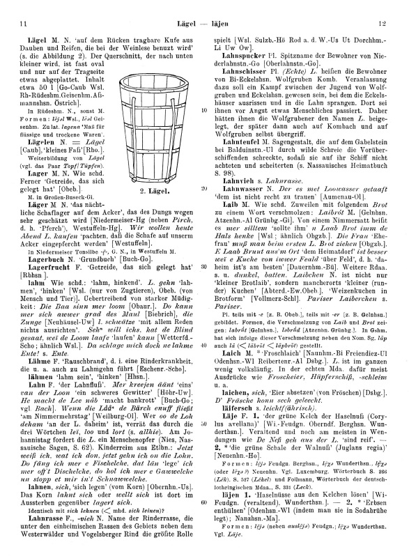 Page View: Volume 2, Columns 11–12
