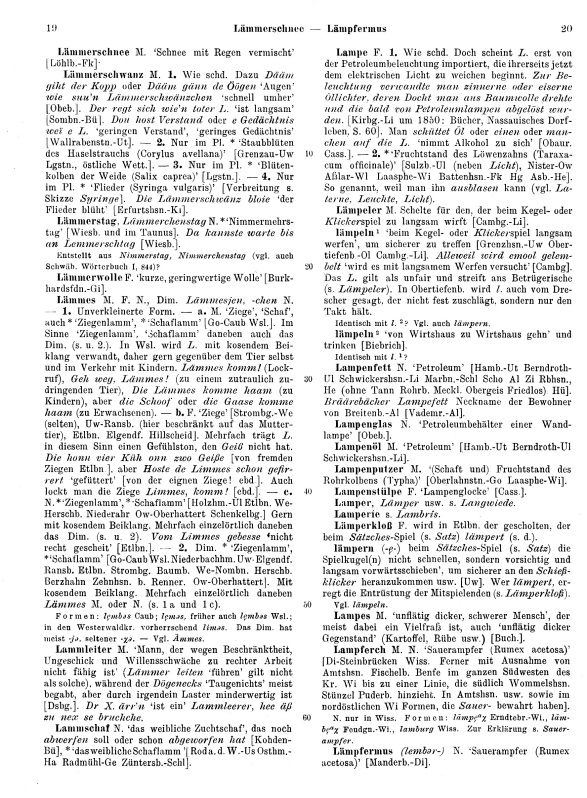 Page View: Volume 2, Columns 19–20