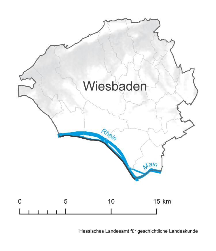Wiesbaden Karte.Historisches Ortslexikon Landkreise A Z Lagis Hessen