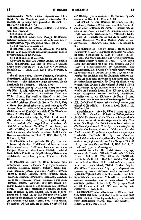 Page View: Volume 1, Columns 83–84